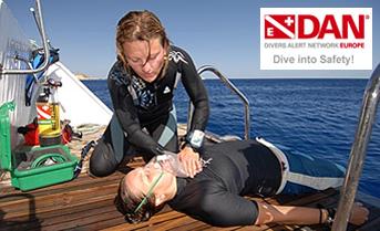 Azure Private Diving - DAN divers alert network