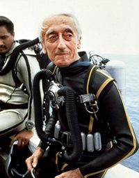 Jacques Cousteau Aqualung