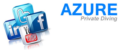 Azure Private Diving on Social Media Networks