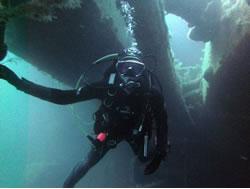 Daria scuba diving 2