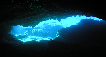 Caves dive site in Protaras Cyprus