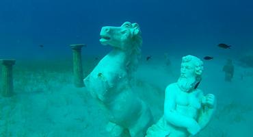 Green Bay dive site in Protaras Cyprus