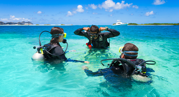 Azure Private Diving - Open water course